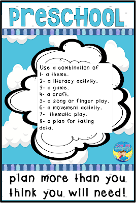 Planning tips for preschool therapy from Looks Like Language!