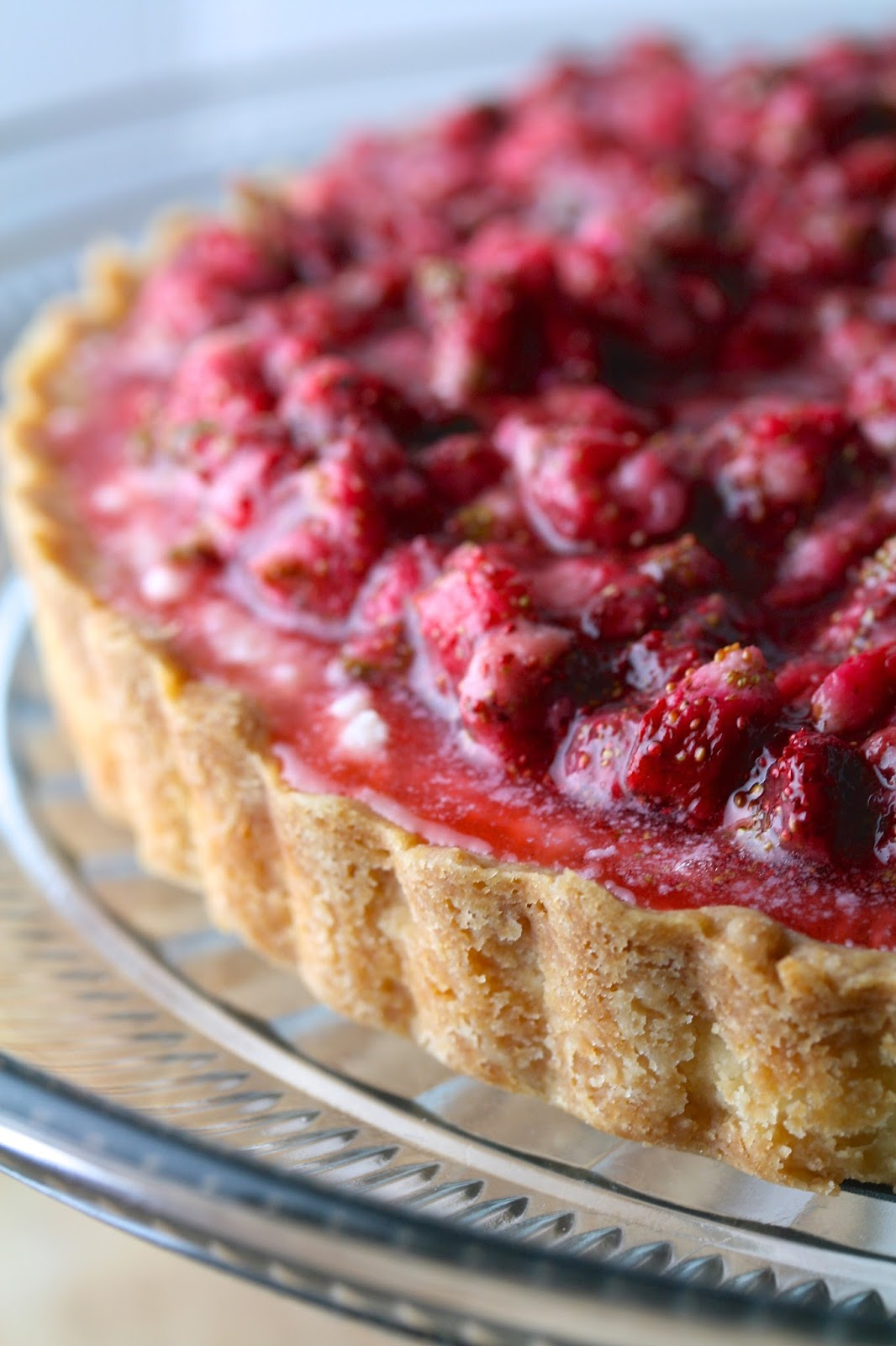 Oregon Transplant: Alpine Strawberry Mascarpone Tart