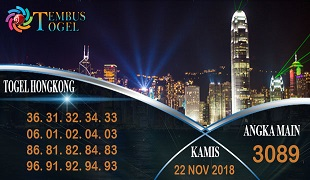 Prediksi Angka Togel Hongkong Kamis 22 November 2018