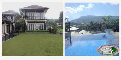 Villa Agung Kampung Daun