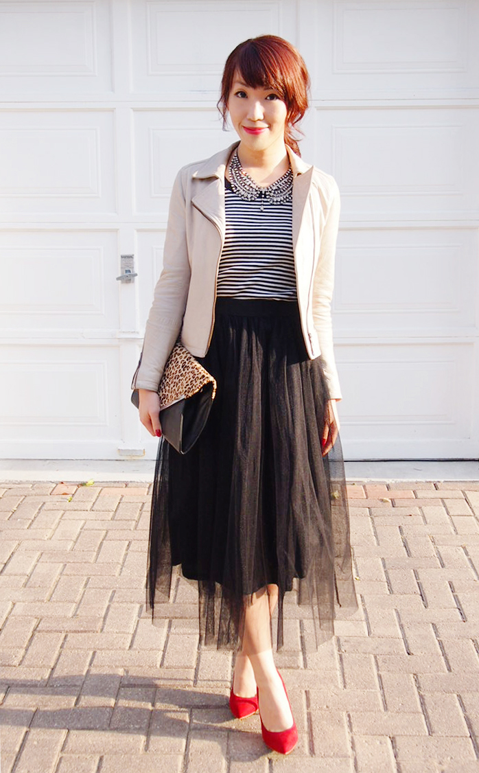 {Outfit Of The Day} Beautiful Tulle