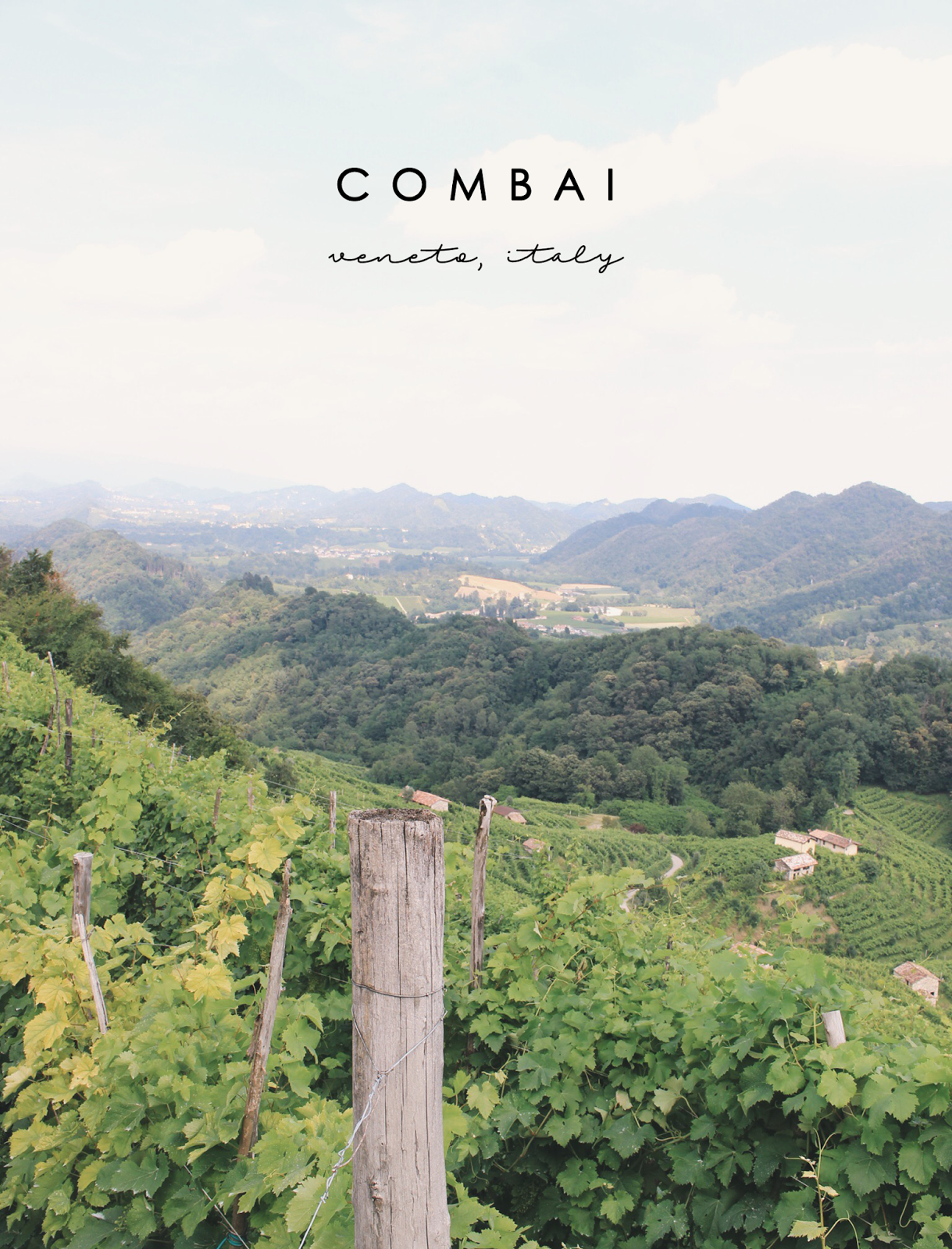 Combai, Italy, Bramble and Thorn, Travel, Europe
