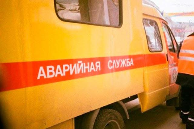 Прорвало трубу на Толстого, но довольно быстро исправили Сергиев Посад