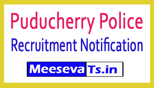 Puducherry Police Recruitment