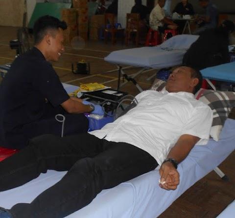 KJP Gelar Baksos Donor Darah
