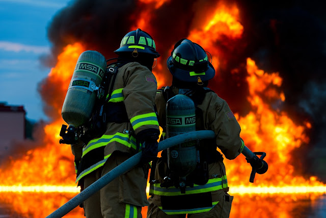 Image: Firefighters, by Military_Material on Pixabay