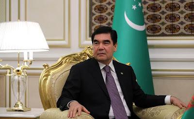 President of Turkmenistan Gurbanguly Berdimuhamedov.