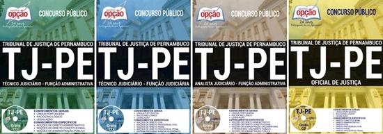 Apostila concurso TJ-PE 2017