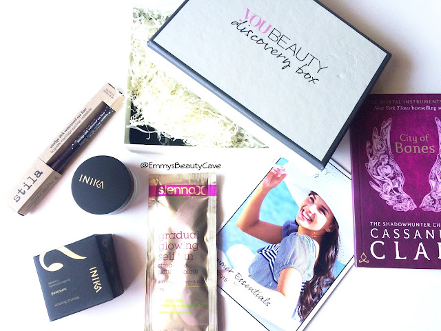 You Beauty Discovery Subscription Box August 2015