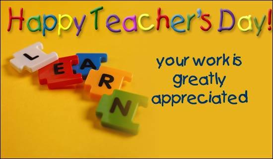 slogan on teachers day