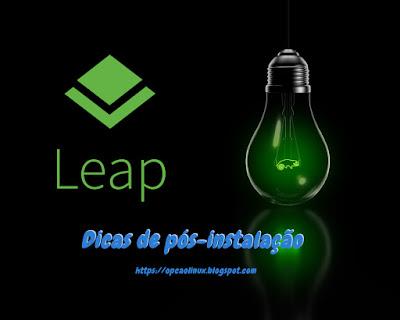 openSUSE Leap - Dicas de pós-instalação