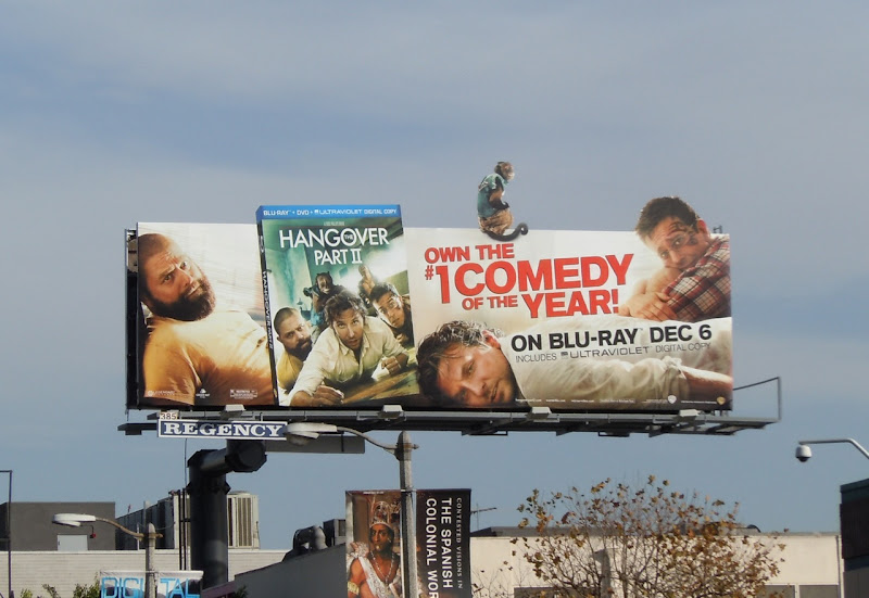 The Hangover Part 2 Bluray movie bilboard