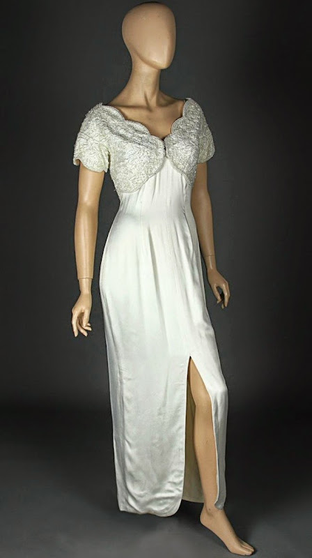 Andie MacDowell Four Weddings and a Funeral wedding gown