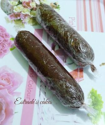 receta de salchichón de chocolate 1