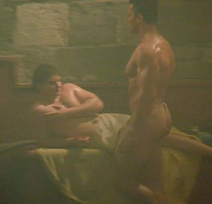 arnold schwarzenegger sex scene with witch