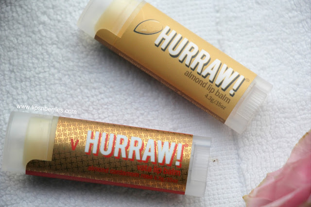 hurraw lip balm review iherb