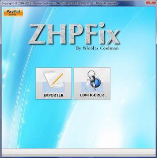 كتاب برنامج ZHPfix مجانا