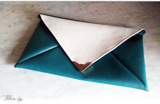 DIY-Pouch-greenwhite-leather-pochette-simili-cuir-blancvert