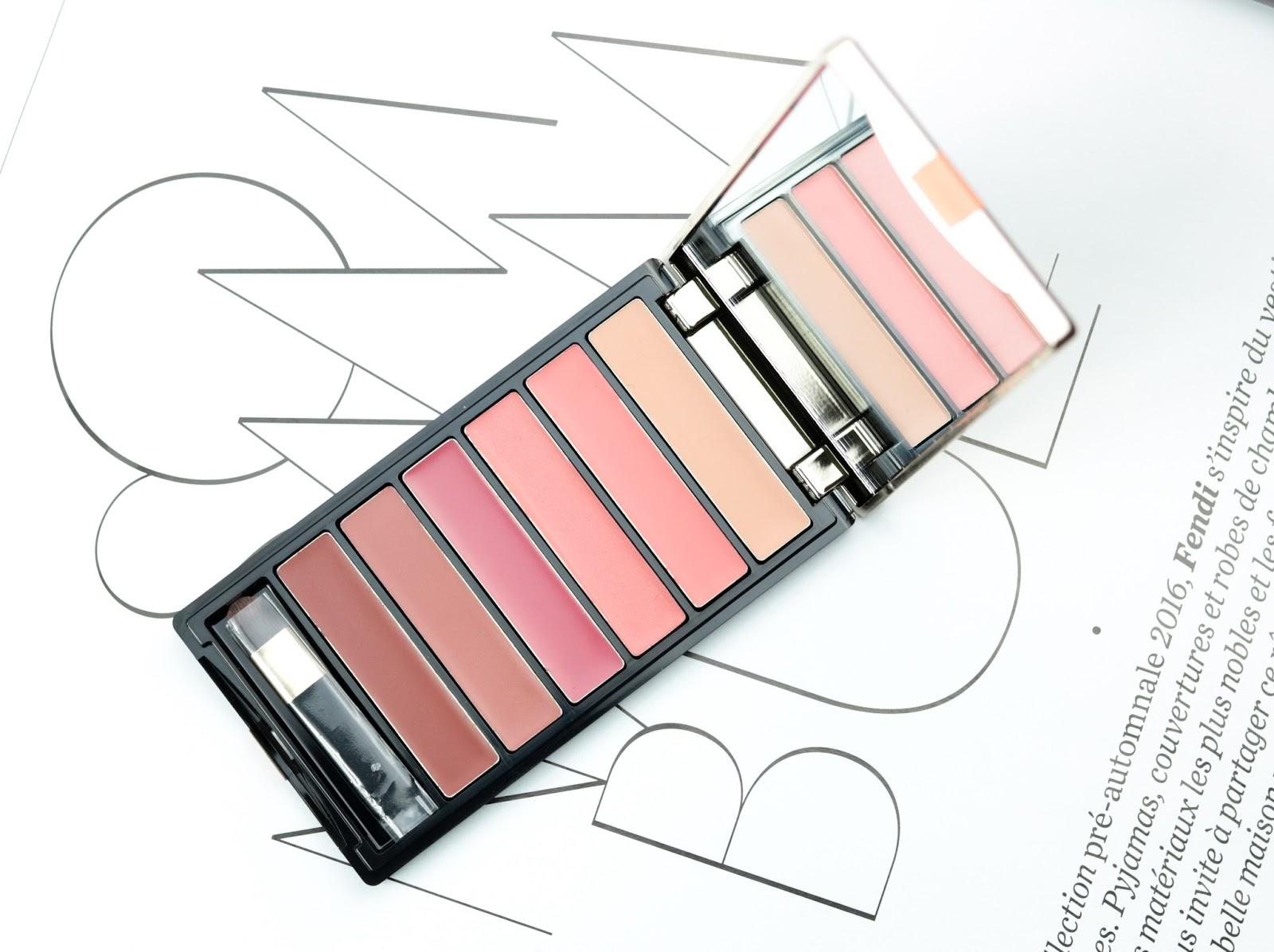 Color Riche de L'Oréal La palette lèvres Nude Avis et Swatch