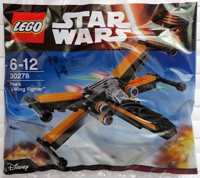 Poe's X-Wing Fighter [30278] Polybag