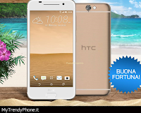Logo Rispondi e vinci gratis un HTC One A9