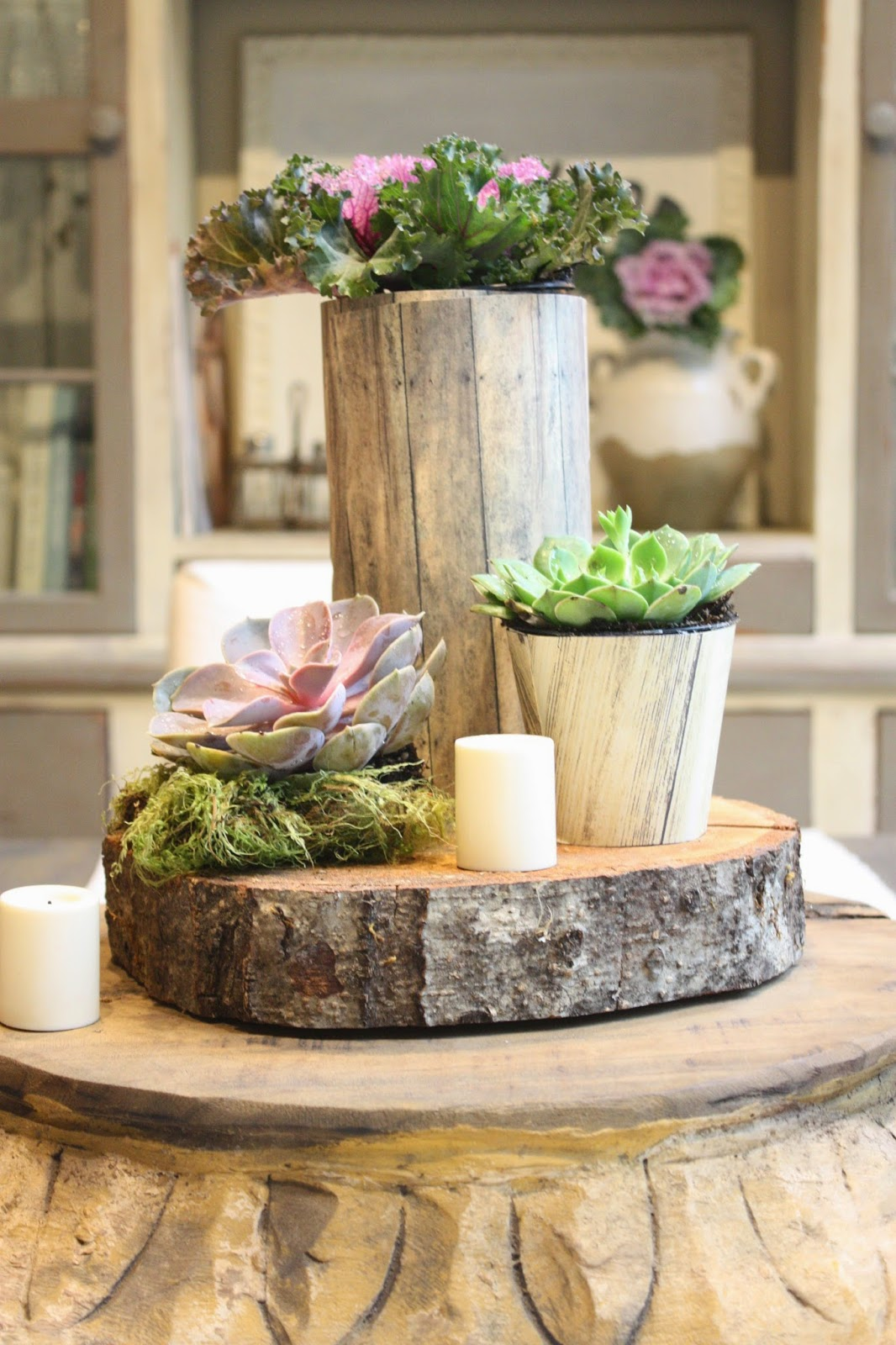 59 Incredibly Simple Rustic Décor Ideas That Can Make Your: My Sweet Savannah: ~DIY Rustic Centerpiece~