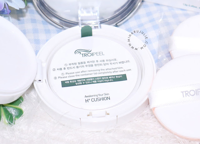 troipeel healing cushion review