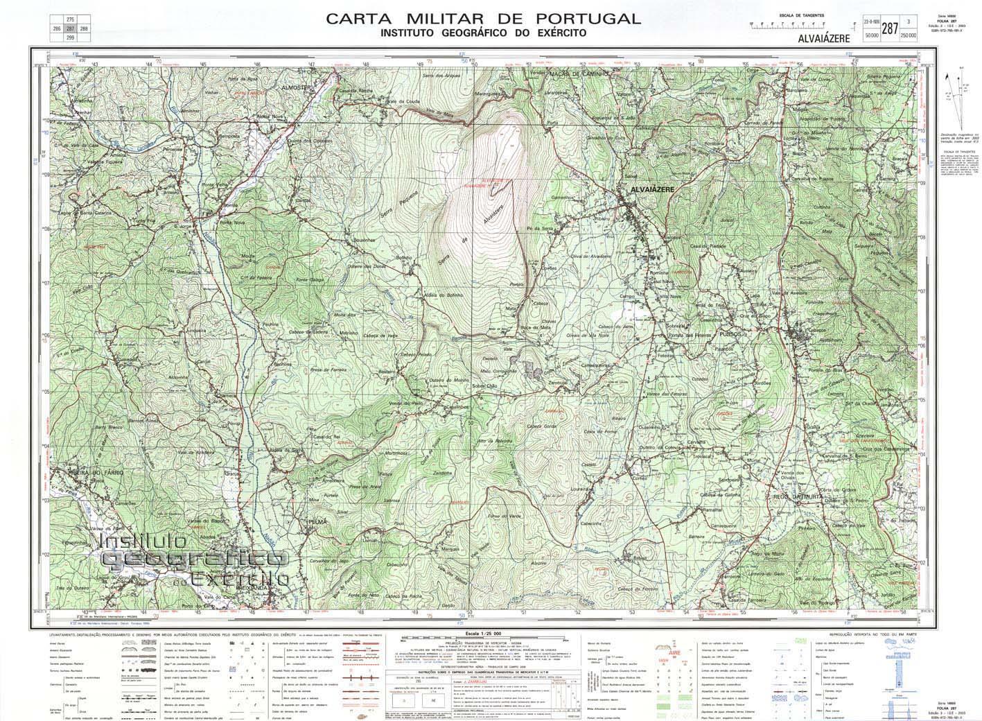 mapa militar portugal Mataspeak: Carta militar à escala 1:25000 mapa militar portugal
