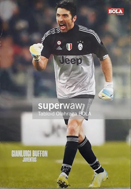 Poster Gianluigi Buffon (Juventus 2015)