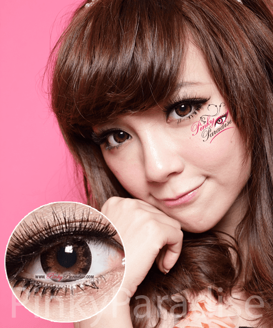 G&G Angel Ex Brown Circle Lenses (Colored Contacts)
