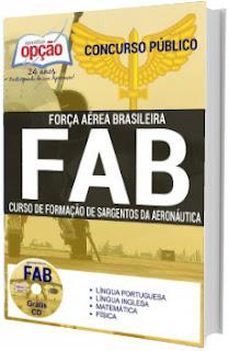 Apostila concurso FAB 2017/2018 - Sargentos