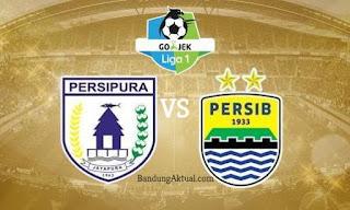 Susunan Pemain Persipura vs Persib Bandung