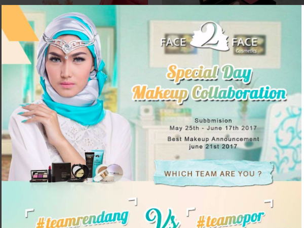 Fresh Makeup Look For Daily by Face2Face Cosmetic