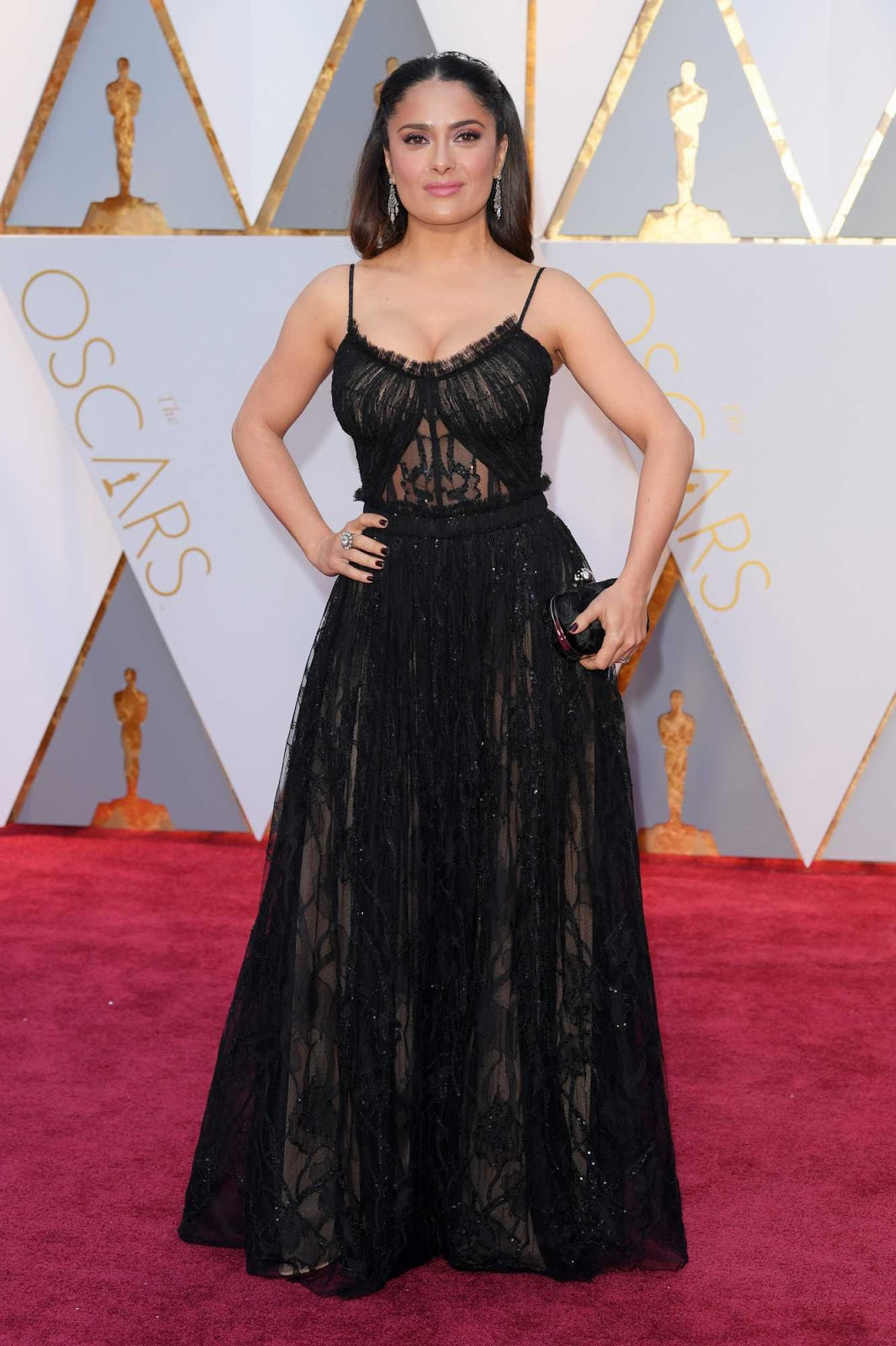 Salma Hayek – 89th Annual Academy Awards