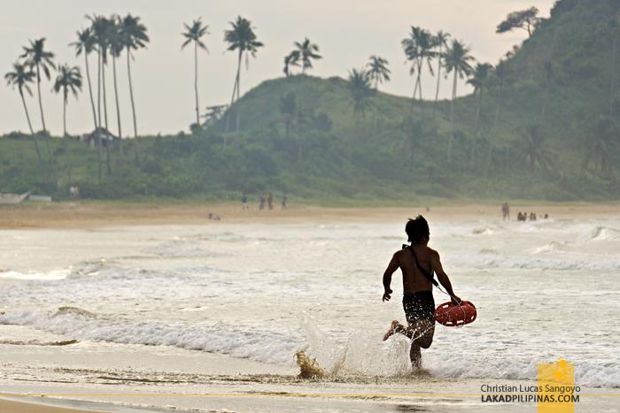 El Nido Nacpan Beach Palawan Lifeguard Rescue