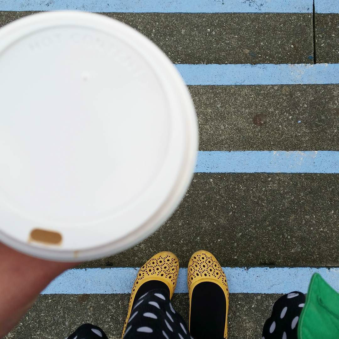 This Little Big Life: Hot chocolate and steps