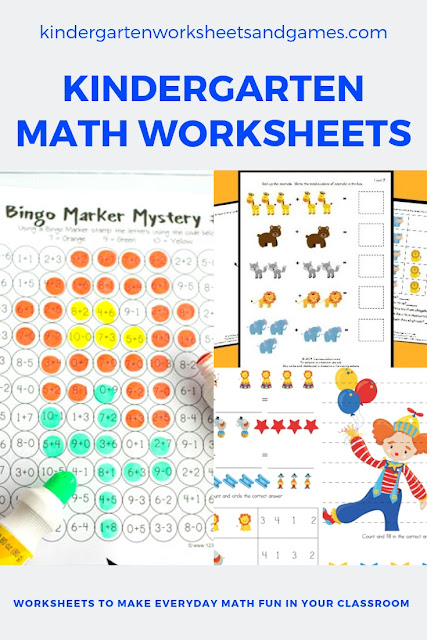 Free Kindergarten Math Worksheets  Kindergarten Worksheets And Games Free Kindergarten Math Worksheets
