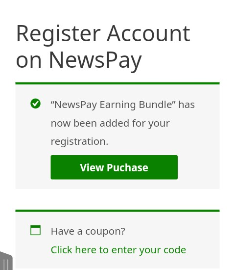 NewsPay Registration