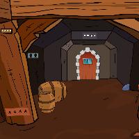 GenieFunGames - Dwarf Cave Escape