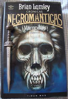 Portada del libro ¡Vampiros!, de Brian Lumley