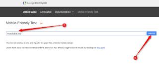 cara cek apakah template blog mobile friendly - blog