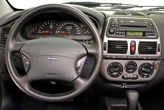 Fiat Marea 2.4 Automático - interior - painel