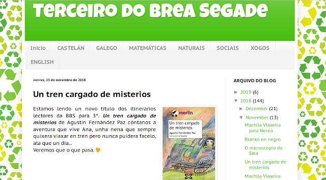 http://terceirodobreasegade.blogspot.com/search/label/itinerarios%20lectores%203%C2%BA