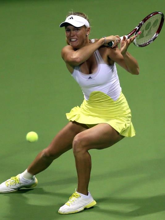 Agnieszka radwanska hot as hell at practice - 2 7