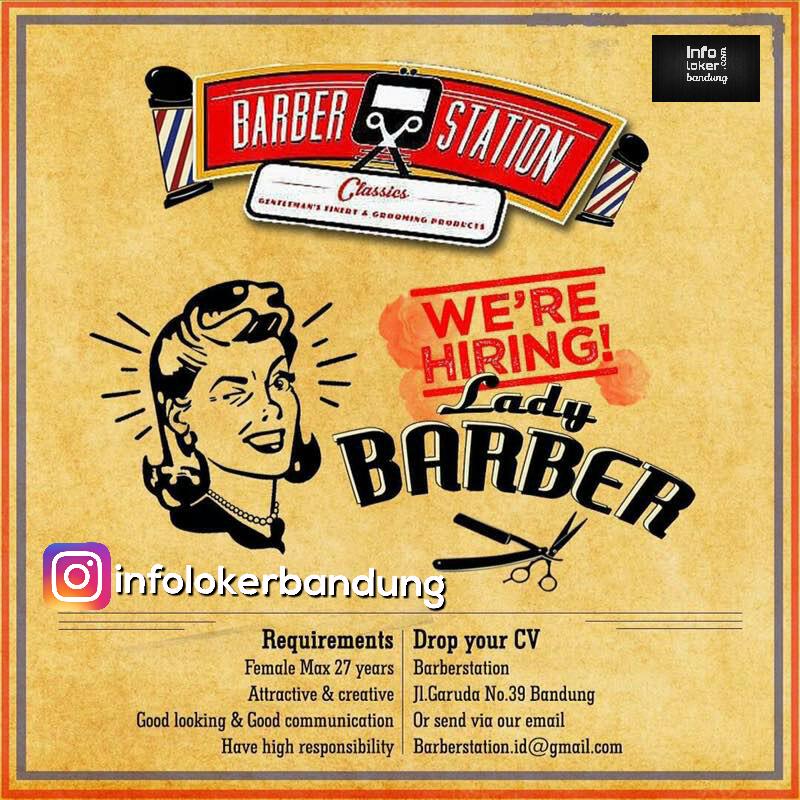 Lowongan Kerja Barber Station Bandung April 2017
