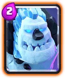 Clash Royale Ice Golem Card - Cards Wiki
