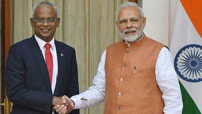 India and Maldives signed MoU