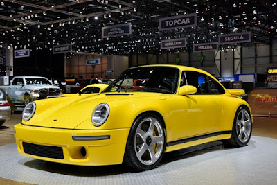 RUF CTR  Yellow Bird At Geneva Motor Show 2017