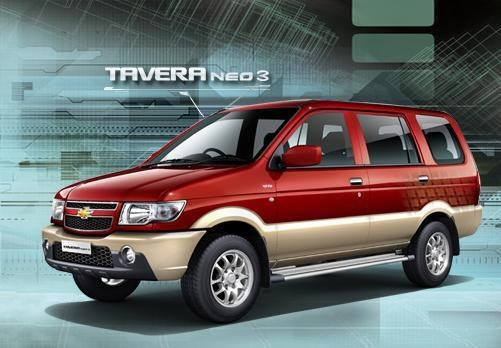 This Info Updated Tavera Neo 3 Launched By Chevrolet
