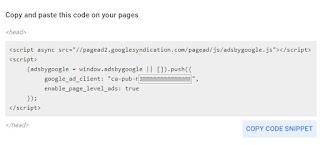 contoh kode iklan otomatis adsense-auto ads
